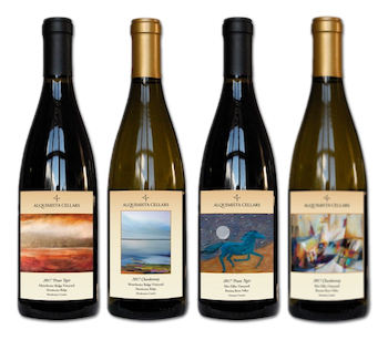 2017 Manchester Ridge and Mes Filles Pinots and Chardonnays